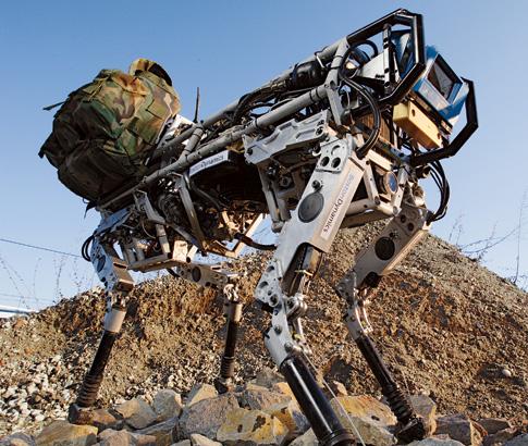 ربات سگ باربر