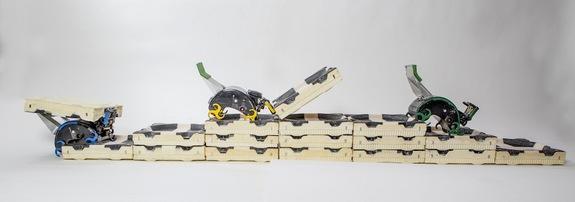 ربات های کارگر ساختمانی