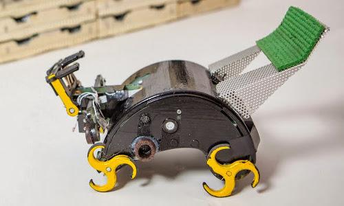 ربات کارگر با الهام از موریانه